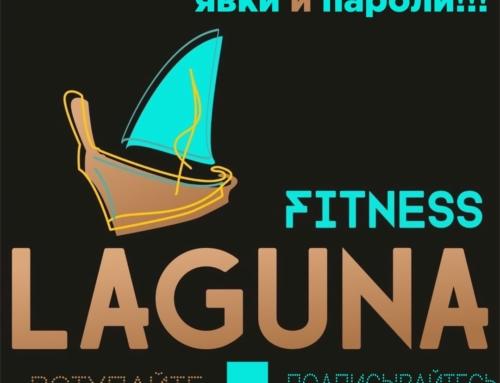 Laguna fitness. Новые форматы фитнеса ждут Вас в привычной локации.